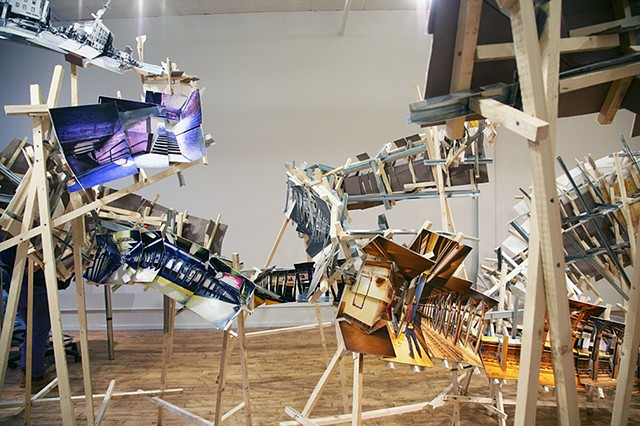 architectural installation photography deconstructed