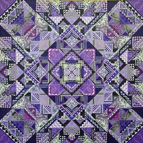 Purple Color Accent Collage