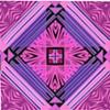 mini purple pink