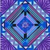 mini blue purple