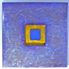 big blue square