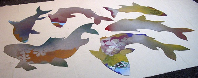 Loving Fish - Harris Lane - in process, group 2