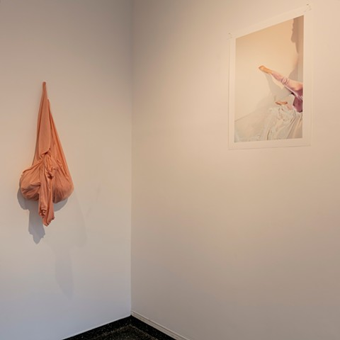 robyn leroy-evans motherhood art new orleans photography sculpture installation fabric a growing dance