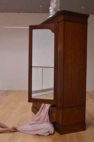 Robyn LeRoy-Evans photography artist 2012 SIA Gallery Residency 'Wardrobe/Chair/Cloth/Chains'