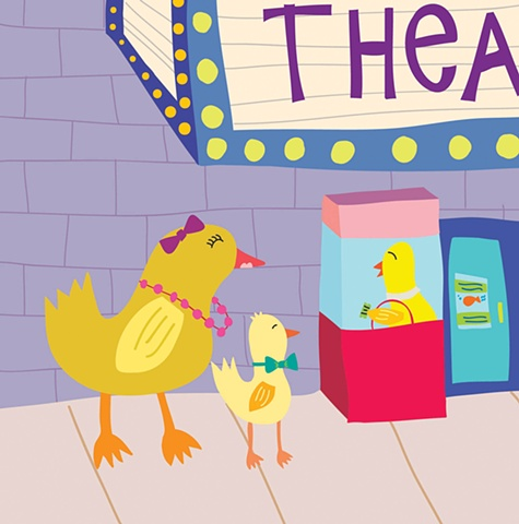 Fancy Ducks to the Theater