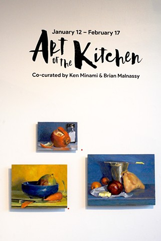Art of the Kitchen show opening wall