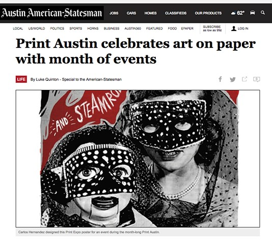 Print Austin celebrates art on paper with month of events