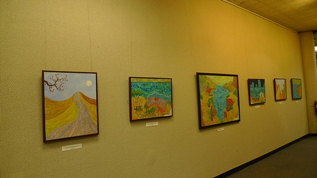 "2011-""LANDSCAPES""  Long Beach Public Main Library"