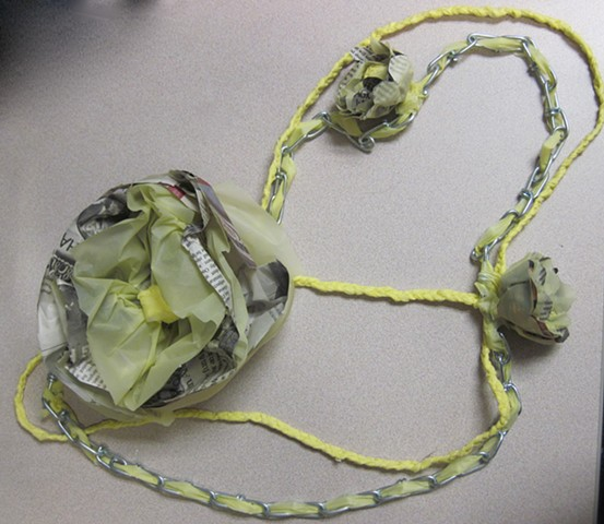 One-Week Found Materials (necklace)