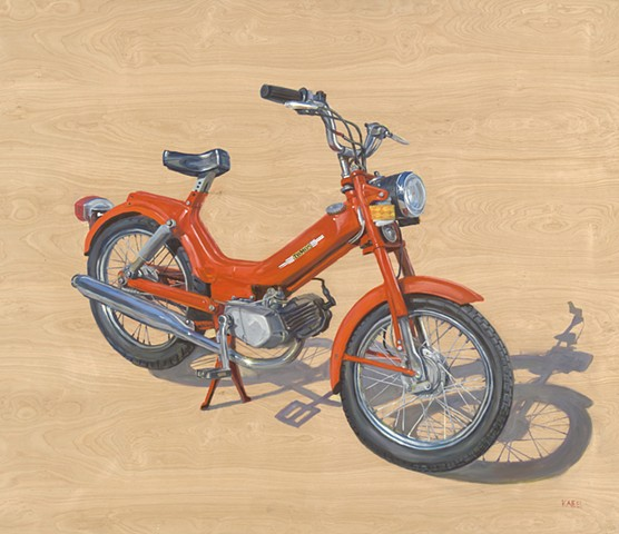 1976 TOMOS A3 Moped