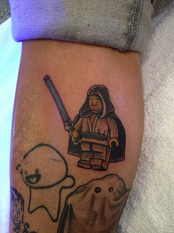 Lego Star Wars tattoo by Bradley Delay