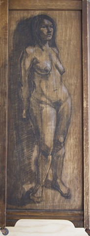 Carmen on Wood