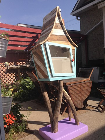 Children's little free library