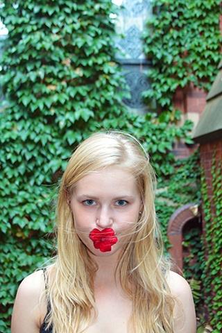 Adrienne In the Garden