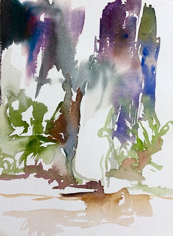 Watercolor Israel
