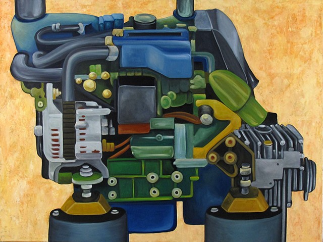 Engine Grounded