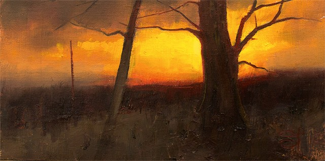 Devin Roberts Art Paintings Sunset