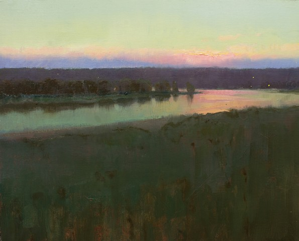 Devin Roberts Artist Paintings Art Sunset