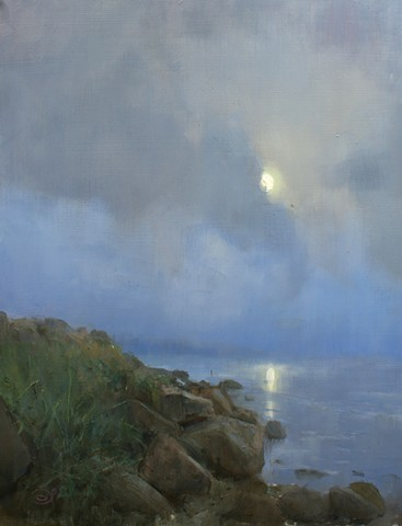 Devin Roberts Paintings Art Artist Seascape