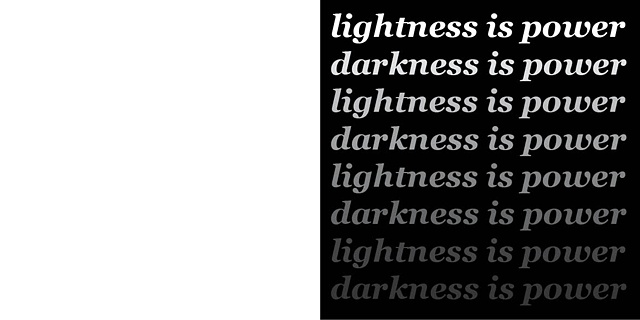 Ender Spread for Lightness & Darkness