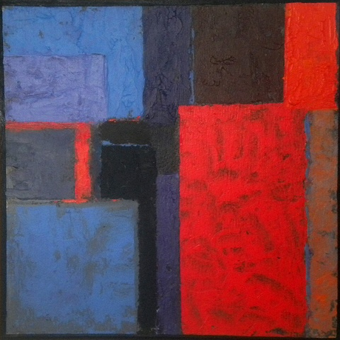 Square Red Blue