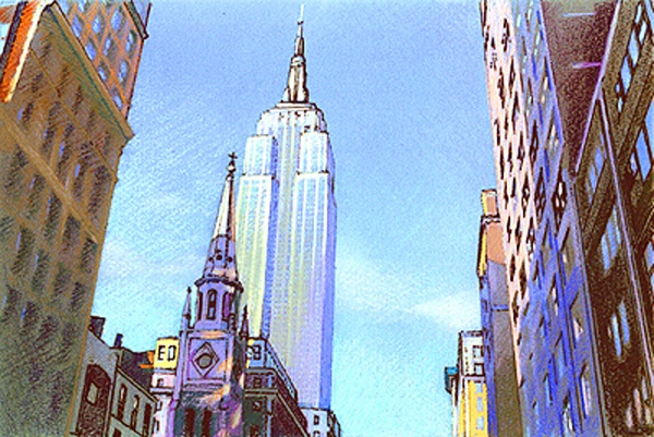 Empire State Late Afternoon