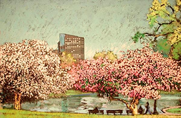 Boston Common Spring