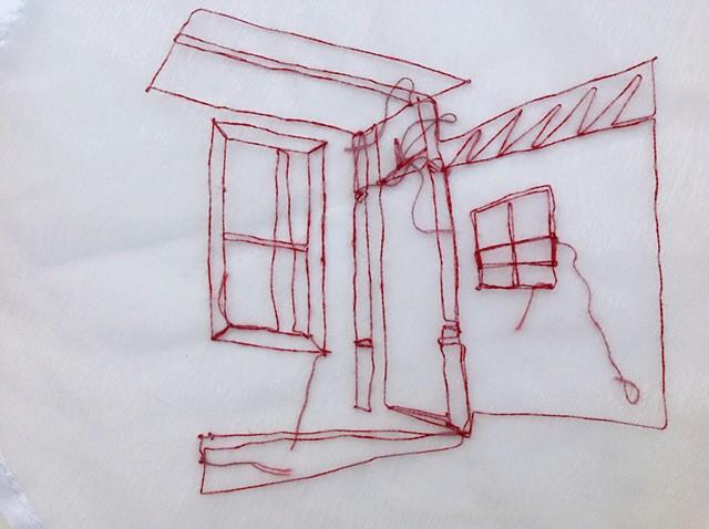 Porch No. 3 detail