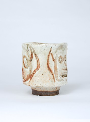 wood fired stoneware, clay, ceramic, shine, andrew m simmons, artist, ohio