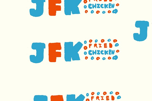 JFK FRIED CHICKEN FOOD WRAP/PACKAGING