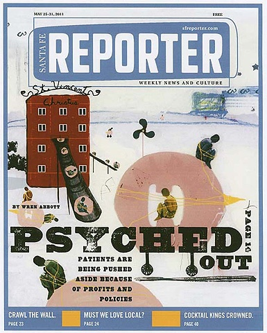 "COVER: THE SANTA FE REPORTER  ""PSYCHED OUT"""