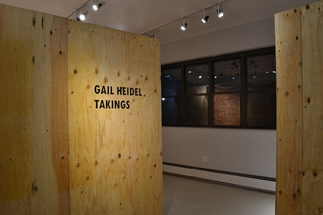 Takings is a new site-specific and interactive installation sited at the Clay Art Center in Port Chester, NY that critiques the use of eminent domain while promoting an emergent system.
