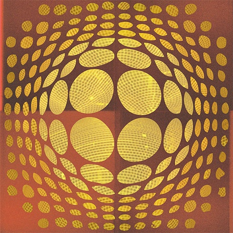 Disco Vasarely