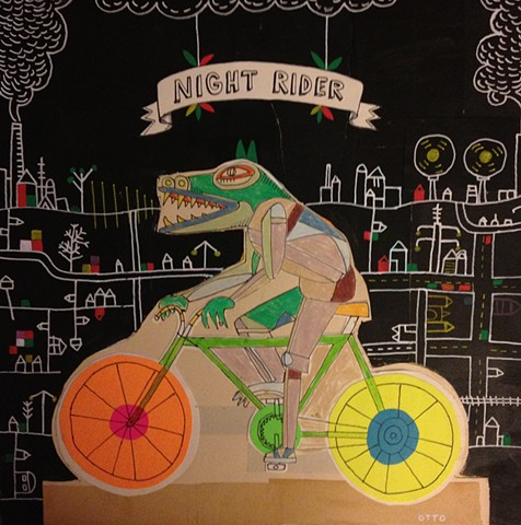 Night Rider Again / Sold