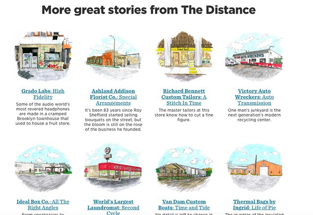 The Distance Buildings