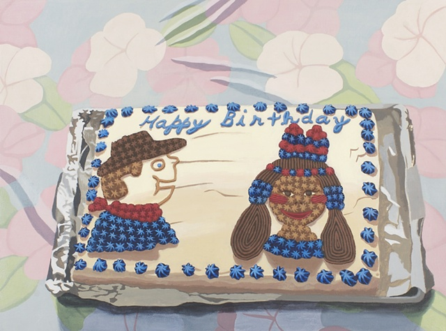 cowboy, indian, native american, cake