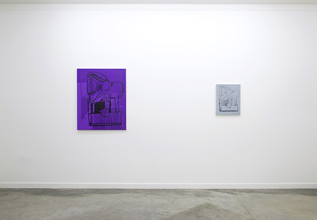 Romer Young Gallery (left wall)