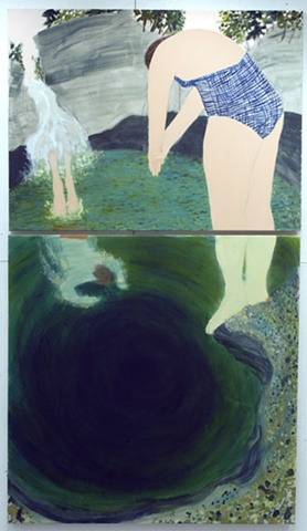 Cady's Falls (diptych)