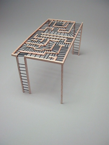 Monkey-Bars, Scale Model