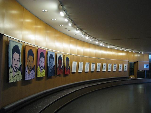 installation Rotunda Gallery Kitchener, Ontario