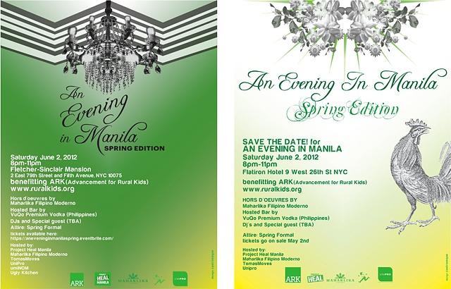 EVENING IN MANILA Identity Design