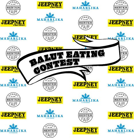BALUT EATING CONTEST STEP AND REPEAT BANNER
