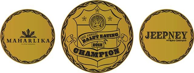 Balut Eating Champ Belt