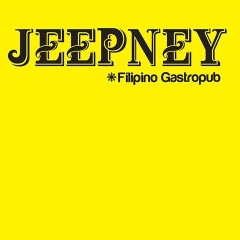 JEEPNEY Filipino Gastropub  http://www.jeepneynyc.com _*JEEPNEY*_  Logo