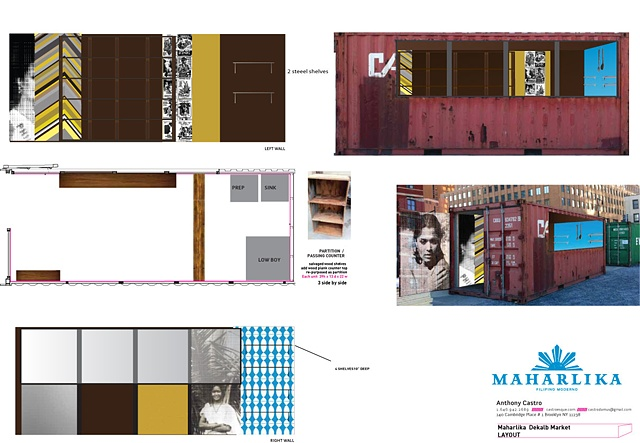 MAHARLIKA Filipino Moderno   DEKALB MARKET Downtown, Brooklyn  INTERIOR CONCEPT