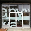 ANYWAY MGMT Store front logo installation