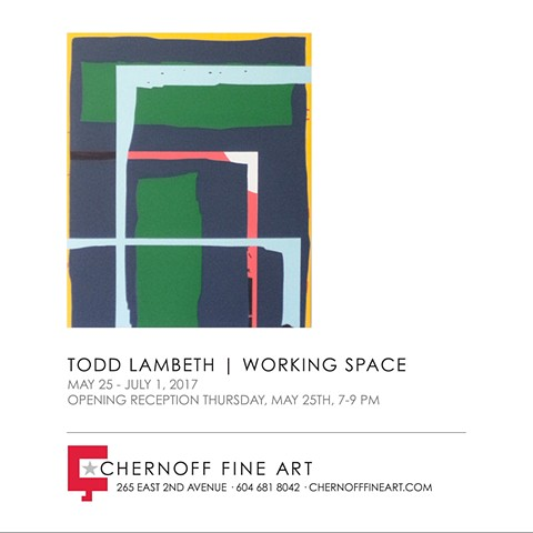 Solo exhibition in Vancouver at Chernoff Fine Art