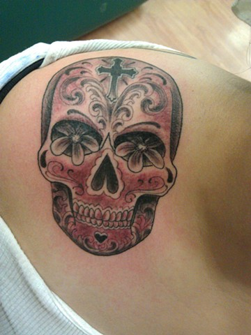 Day of the Dead Skull by Mason Hogue