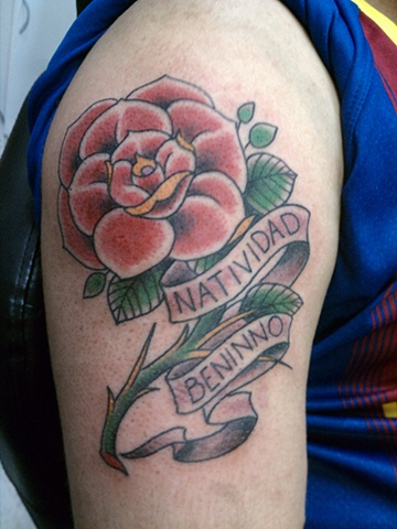 rose tattoo, mason hogue