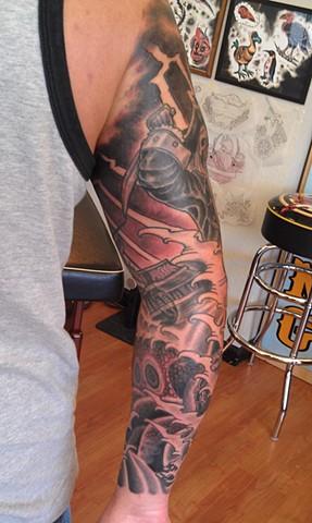 Pirate Tattoo by Mason Hogue